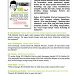 """Cover belakang buku """"100 Tahun KH Abdullah Wasi'an, Kristolog Jago Dialog"""". Terbit September 2017"""